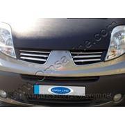 Накладки на решетку Renault Traffic(2010-...) фото