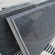 Серый китайский гранит Sesame Black Китай фото
