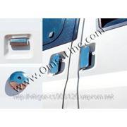 Накладки на ручки Ford Transit 03'-...(сталь)3шт фото