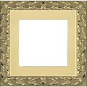 FD01221OB - Рамка на 1 пост, SAN SEBASTIAN, цвет bright gold фото