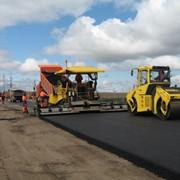Строительство автомобильных дорог фото