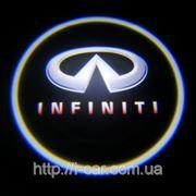 Проекция логотипа автомобиля INFINITI фото