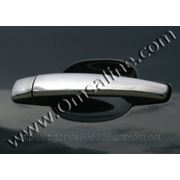 Накладки на ручки Citroen Jumpy 2006'-...(нерж.4дверн.) фото