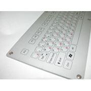 Профессиональная металлическая PC клавиатура с интерфейсом USB PS/2 фото