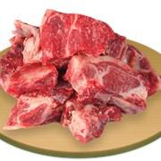 Мясокостный столовый полуфабрикат фотография