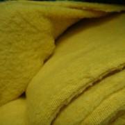 Ткань Флис Желтый фото