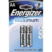 Батарейка Energizer Maximum AA/LR06 FSB2 /12/ фото