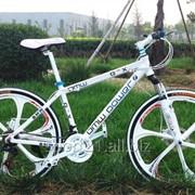 Велосипед на литых колесах BMW White Powe фото