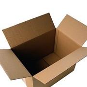 Листы трёхслойного гофрированного картона с размерами фото