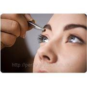 Коррекция бровей, окрашивание бровей и ресниц