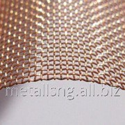 Сетка тканая бронзовая 0,1х0,06 БрОФ6,5-0,4 фото
