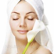 Чистка лица с использованием косметики фото