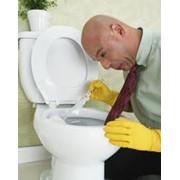 Мытье сантехники фото