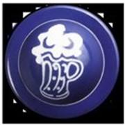 Пукли, пластиковые, сине-белые пивная кружка, 12 шт. фото