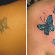 Обновление татуировки фото