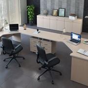 Комплект офисной мебели Свифт К2 Светлый фото
