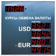 Табло валют Электроника 7 1056 фото