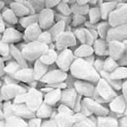 Стеклянная крошка, «белый опал свинцово-свободный» COE 82, средний, 1000 гр. фото