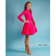 Платье спортивное для бальных танцев Р 4.4 Альера фото