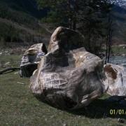 Карьерный камень глыба фото