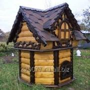 Колодезный домик фото