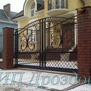 Ворота откатные в Калининграде фото