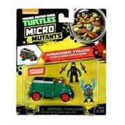 Микро. Бронированный грузовик Черепашек-ниндзя с фигурками Рафа и Слеша фото