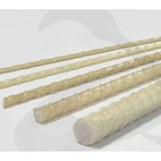 Арматура стеклопластиковая композитная строительная рифленая периодическая АСП 4мм. 6мм 8мм 10мм 12мм 14мм 16мм 18мм в бухтах по 100 200 150 300 м. 500метров и в отрезках длиной 6 или 12м фото
