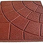 Квадратная однотонная плитка PlayMix, сетка, паутинка для спортивных залов фото