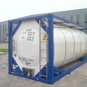 Танк – контейнер Т11, для перевозки серной кислоты химических веществ ИМО 1. фото