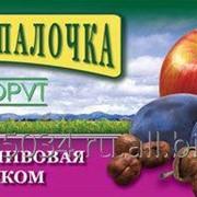 Фруктовая палочка Яблочно-сливовая с фундуком фото
