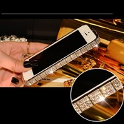 "Бампер Metal Snake Design with Diamonds для iPhone 6 4.7"" Silver фото"