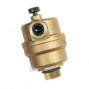 Воздухоотводчик Н 3/8' автоматический Microvent с клапаном для монтажа фото