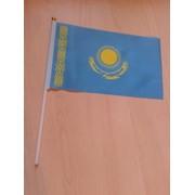 Флажки Казахстана ручные фото