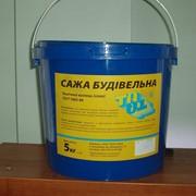 Технический углерод (сажа строительная) 5кг фото
