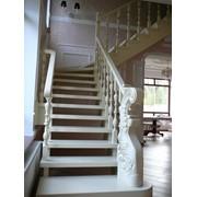 Лестница эмаль, патина фото