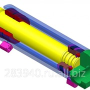 Гидроцилиндр угловой 2КМ800У.01.04.150 фото