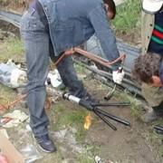 Ремонт кабеля. фото