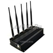 Подавитель 101A-5, подавляет сигналы GSM, 3G, GPS , Wi-Fi фото