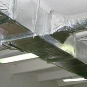 Система конструктивной огнезащиты воздуховодов и коробов дымо- газоудаления - ET VENT-60 фото