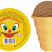 Мороженое летнее шоколадное фото