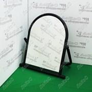 Зеркало для обуви, 500Lx500Hx300D мм, зеркальное полотно 500х370мм, 5MMO-02(черный муар) фото