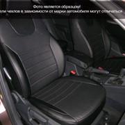 Чехлы Kia Sportage 10 подгол НЕ активный черный эко-кожа Оригинал фото
