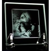 Рамка с 2D фото из стекла фото