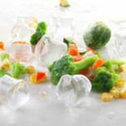 Продукты питания, замороженные продукты фото