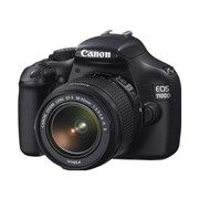 Фотоаппарат Canon EOS 1100D Kit 18-55 фото