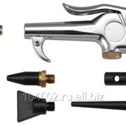 Пистолет продувочный с насадками 8 предметов, код товара: 49164, артикул: JAT-6901S фото