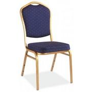Аренда (прокат) конференционных стульев «Classic GOLD» темно-синего цвета по 37 грн/сутки фото