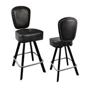 Мебель для казино, Cтулья на пневмопатронах, стулья с поворотно-возвратным механизмом для игорных заведений, баров, Индивидуальное изготовление, С логотипом фото