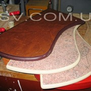 Мебельная кромка из полиуретана фото